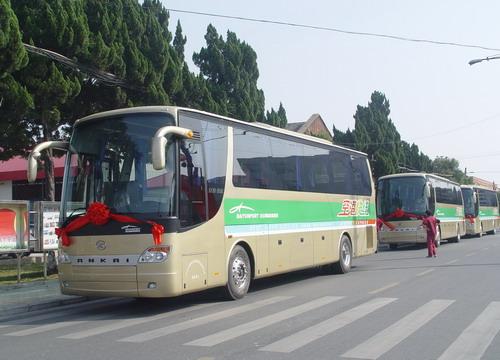 8辆安凯交付广州白云机场(图)