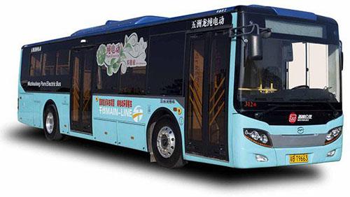 纯电动城市客车fdg6113evg1