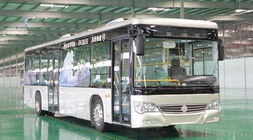 珠海银隆集团生产的银通电动客车-京津冀一体化助推新能源汽车发展高清图片