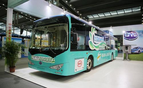比亚迪投资30亿新能源客车基地落户武汉高清图片