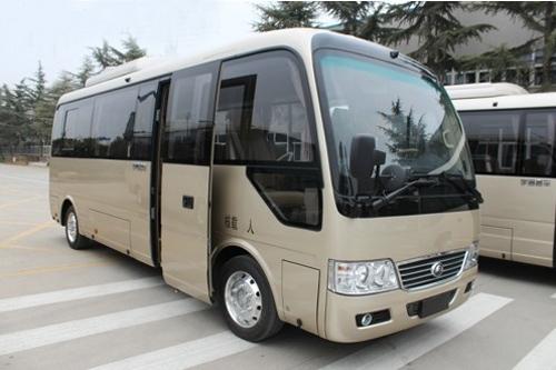 宇通E7纯电动商务版-宇通E7纯电动客车上市两月销900辆高清图片