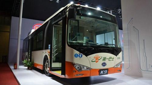 新能源大巴车结构图