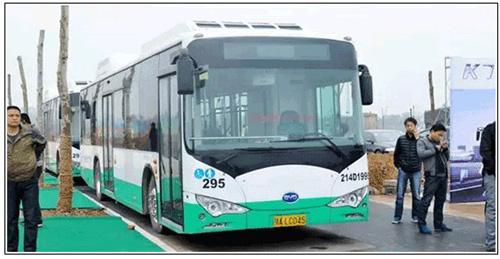 比亚迪投资50亿 在武汉打造新能源客车及专用车生产基地高清图片
