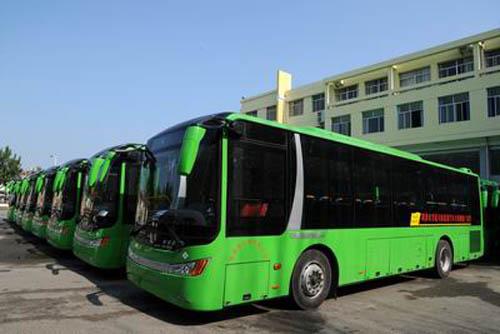 100辆lng气电混合公交车的优点在哪?