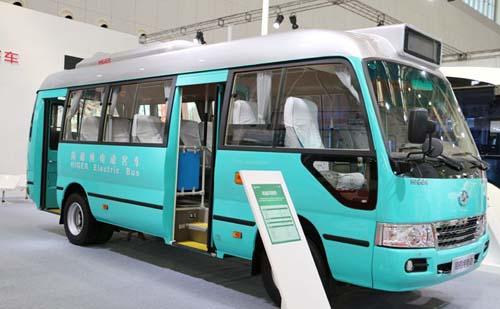 海格携3款纯电动精品亮相天津客车展 助力交通微循环