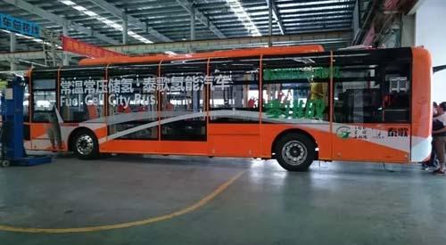 湖北首台氢燃料电池城市客车在扬子江汽车集团研制