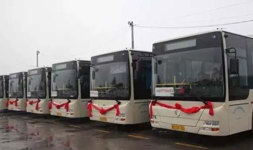 """金旅客车:从胶州开发区到火车站的""""零障碍"""""""
