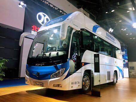 福田汽车集团亮相智能网联汽车大会 智能绿色品质担当